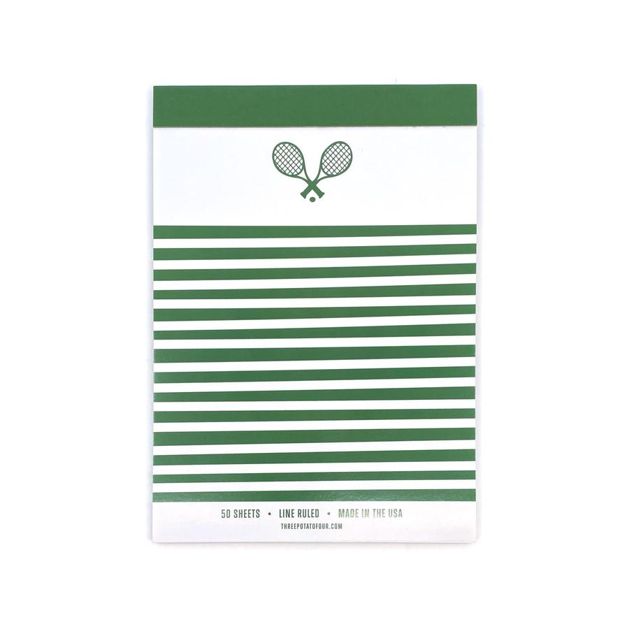 Tablet Notepad- Tennis