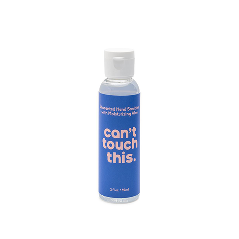 Can't Touch This Unscented Gel Hand Sanitizer- 2oz