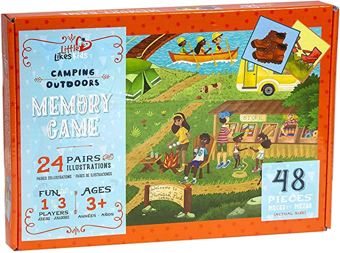 Camping Outdoors Memory Game