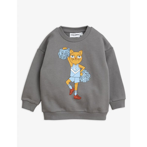 cheercat print sweatshirt