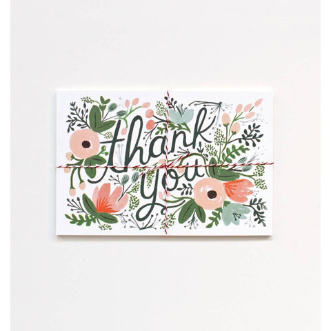 Thank You Post Card Set