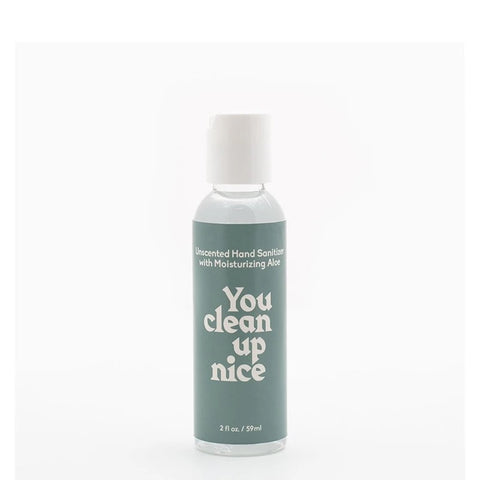You Clean Up Nice Unscented Gel Hand Sanitizer- 2oz