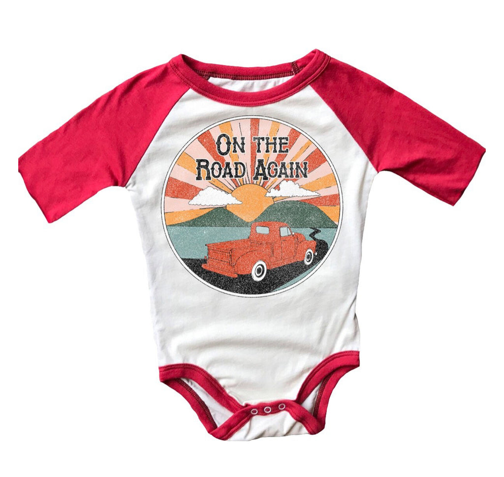 On the Road Again S/S Onesie