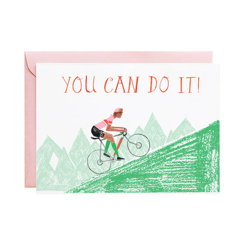 Uphill Climb- Greeting Card