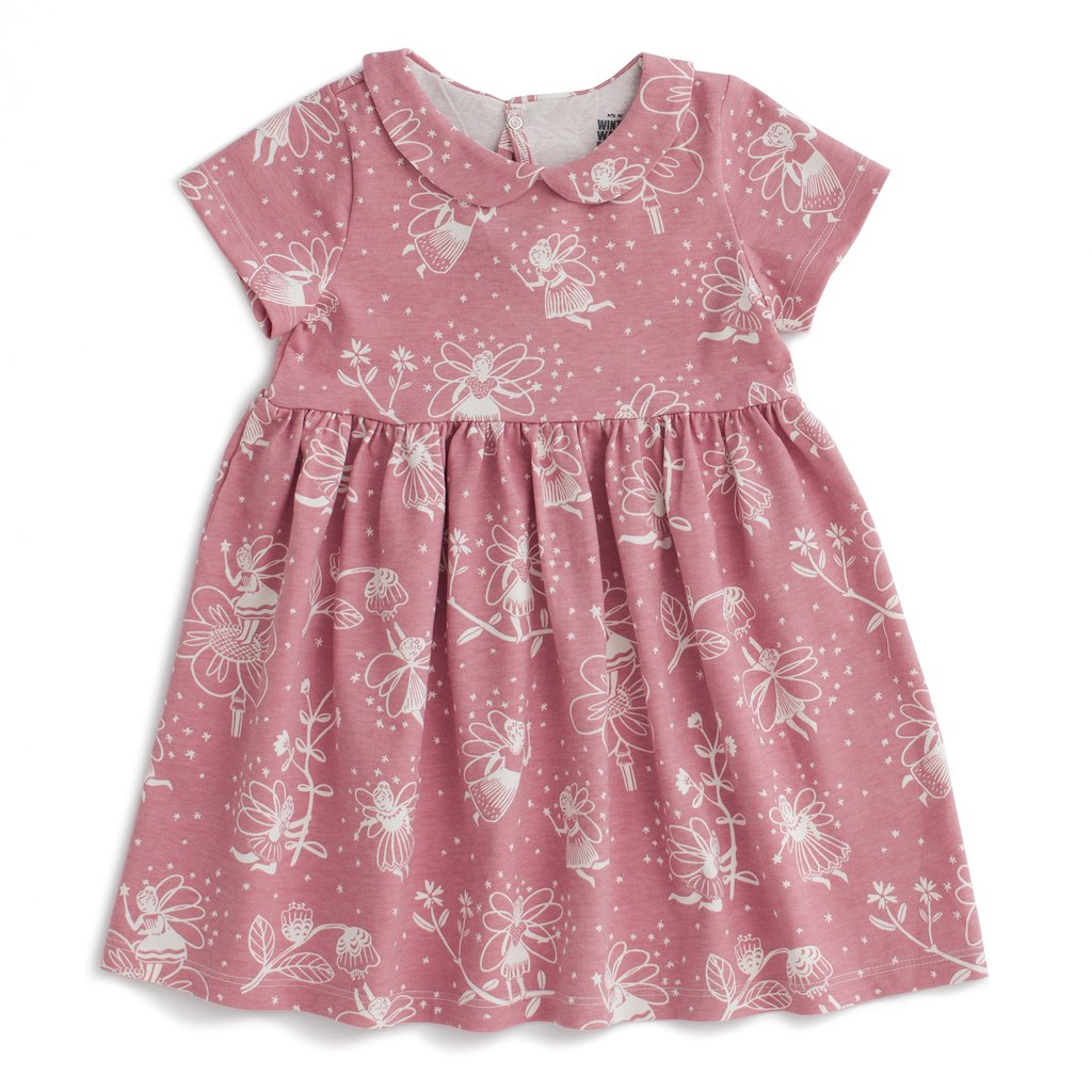 Fairies Dusty Pink Chelsea Dress