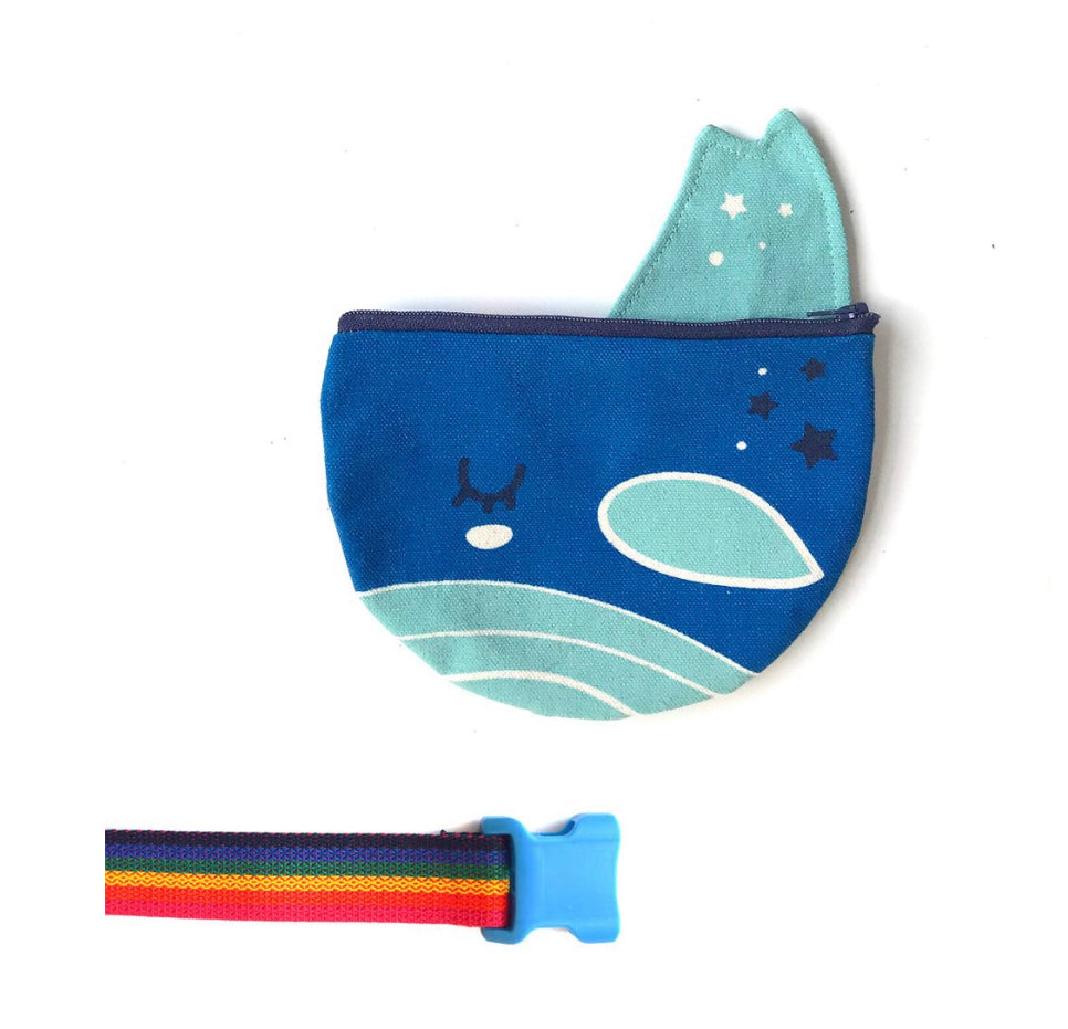 Blue Whale Belt Bag