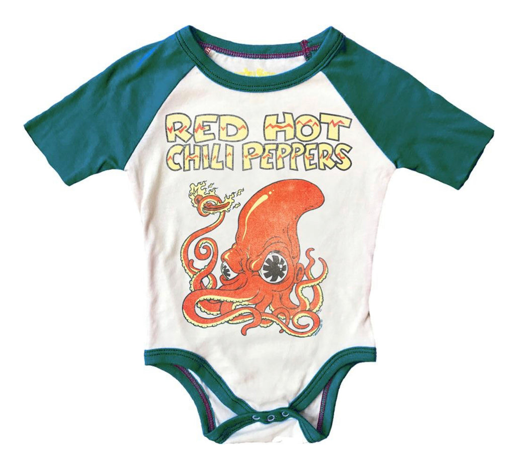 Red Hot Chili Peppers S/S Raglan Onesie