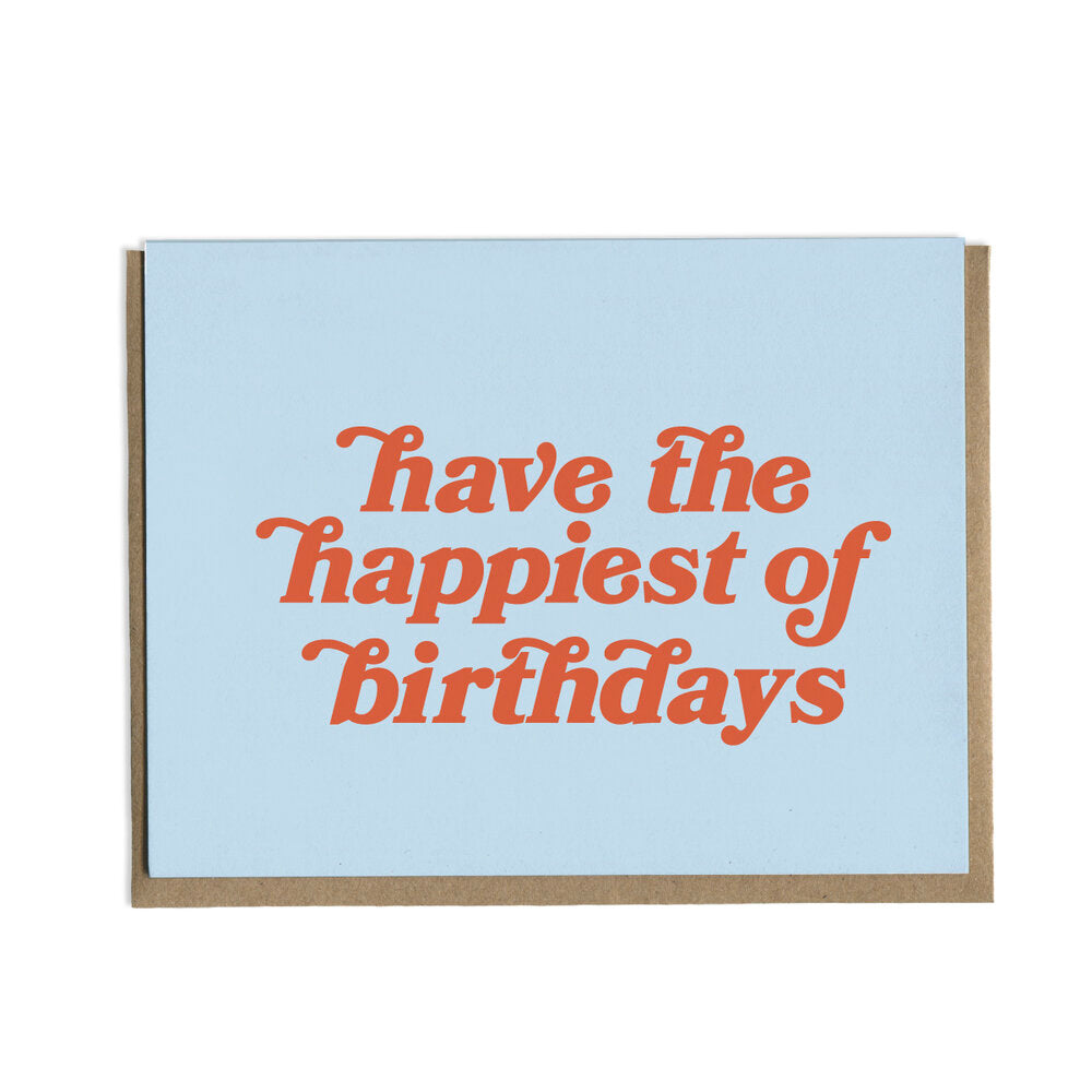 Happiest Birthday Greeting Card