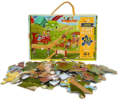 Camping Outdoors Jumbo 48pc Puzzle
