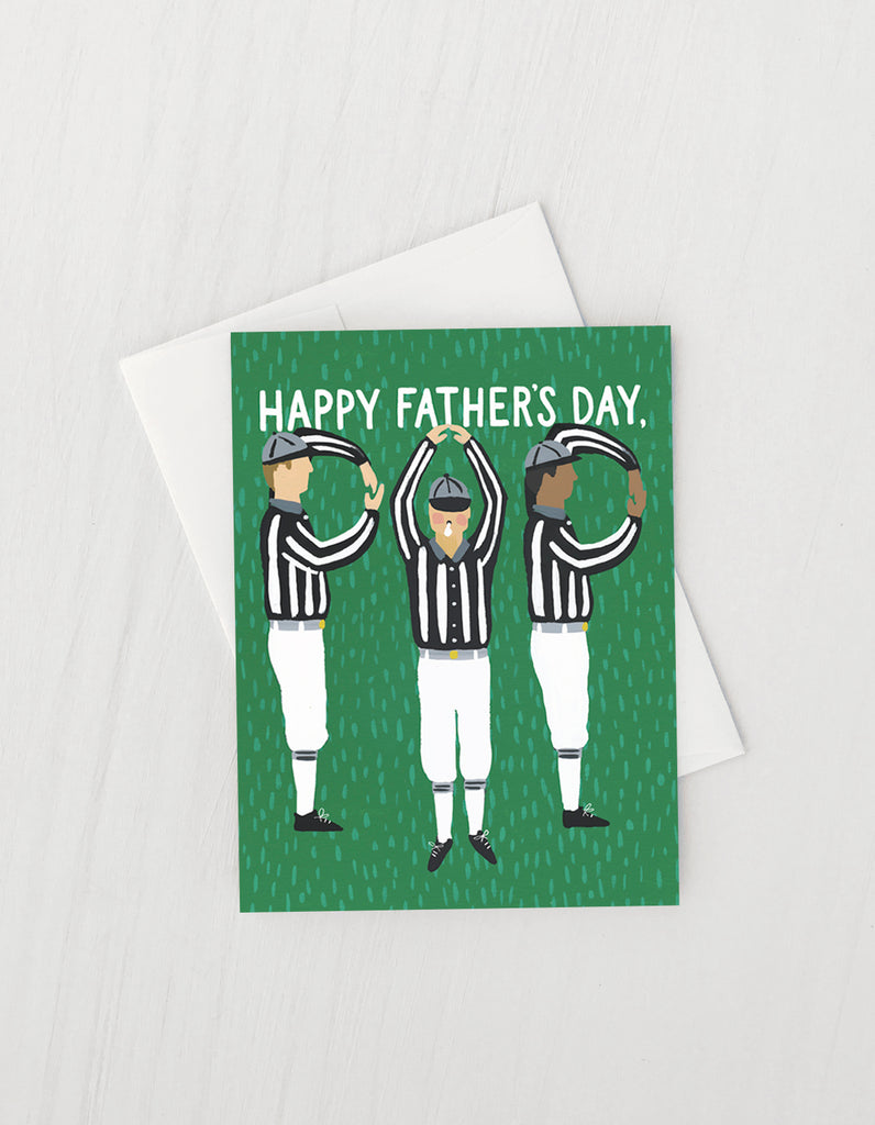 Referees- Greeting Card