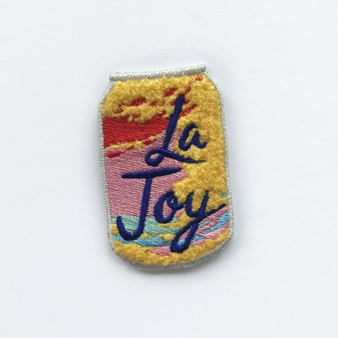 la joy chenille patch