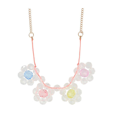 Flower Jewel Necklace