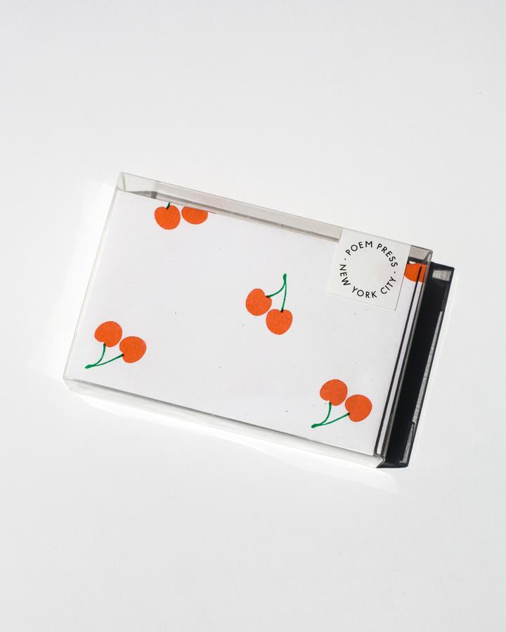 Fruit Notecard Set