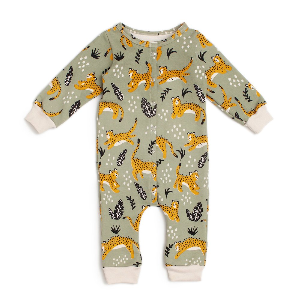 wildcats sage french terry jumpsuit