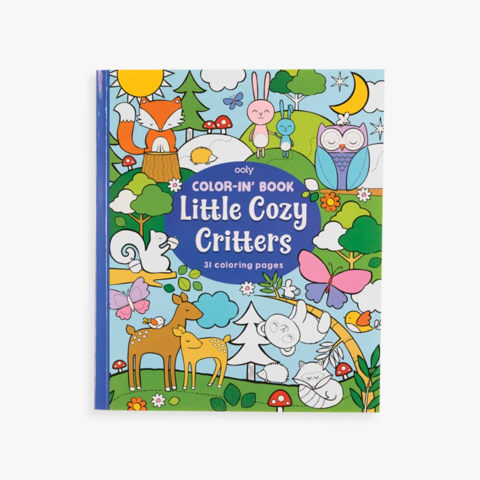 Little Cozy Critters Coloring Book