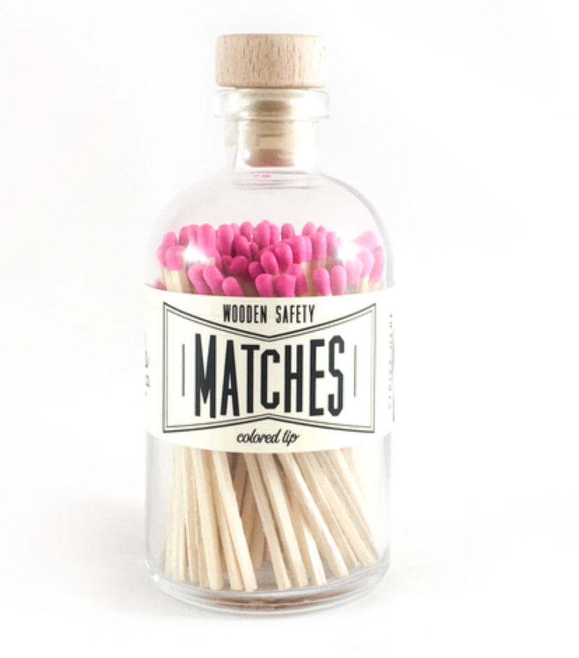 Vintage Pink Matches