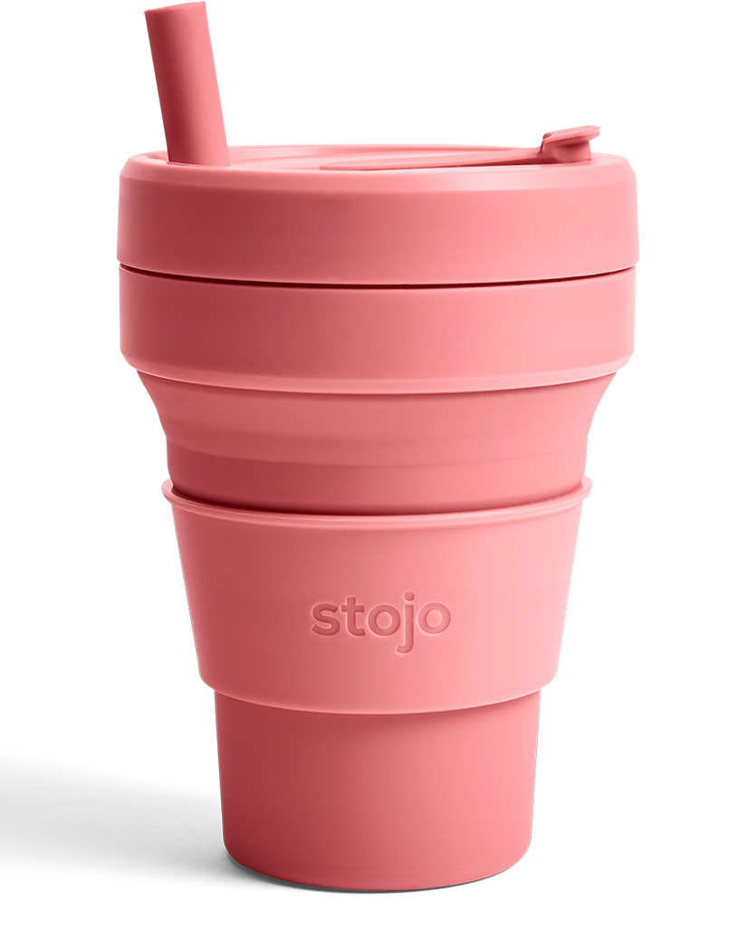 Stojo Collapsible Cup - Berry