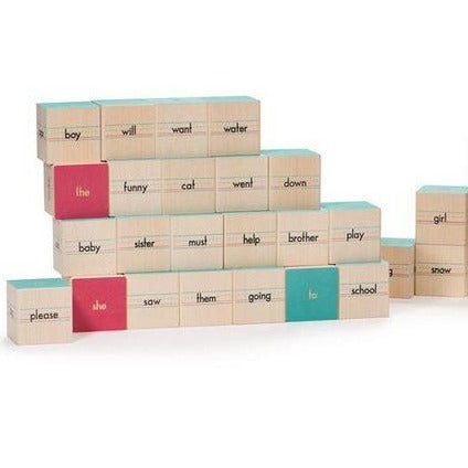 Sight Word Blocks