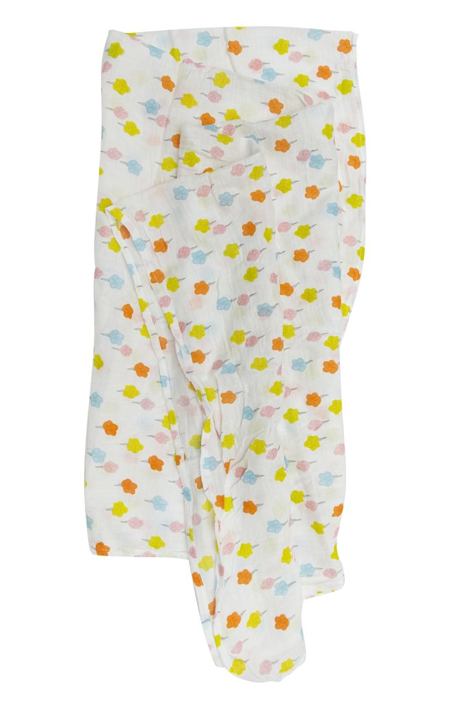 Candy Floss Muslin Swaddle