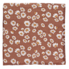Daisy Clay Brown Swaddle