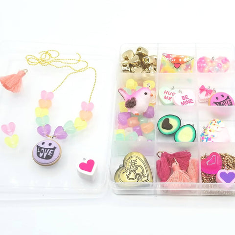 Love Bug Jewelry Charm DIY kit