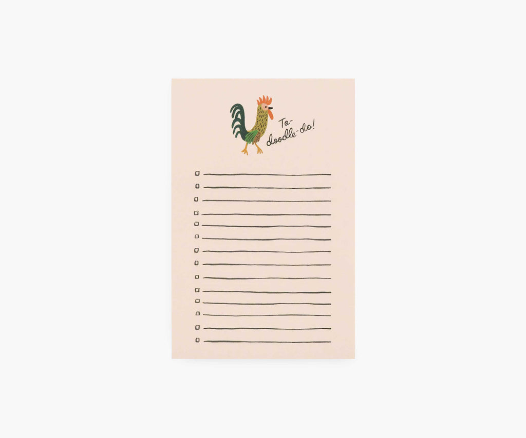 To-Doodle-Do Checklist Notepad
