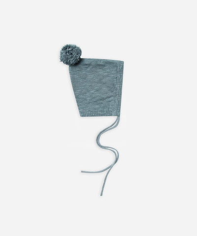 pixie hat- dusty blue