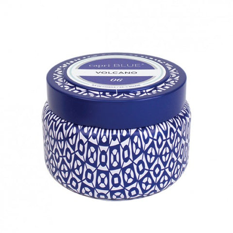 Volcano Signature Printed Travel Tin Candle