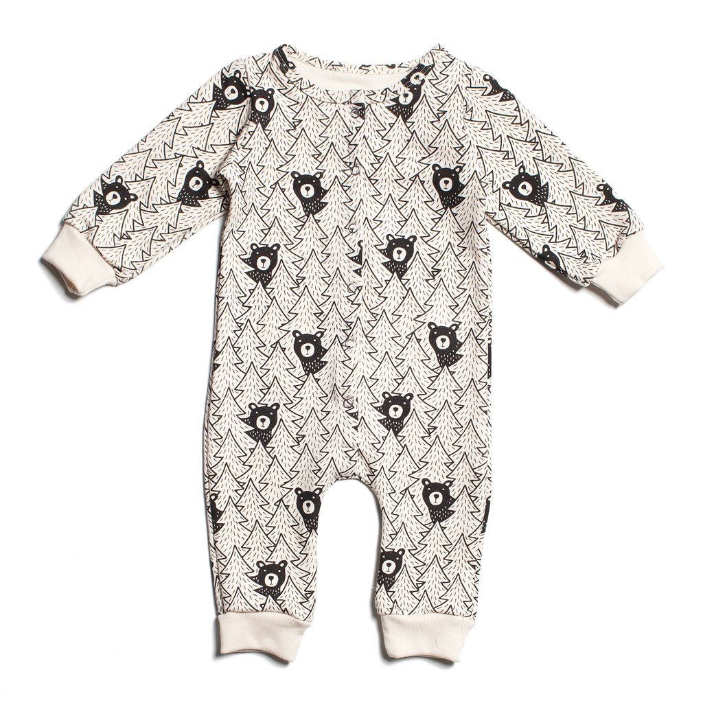 Black Bears French Terry Jumpsuit