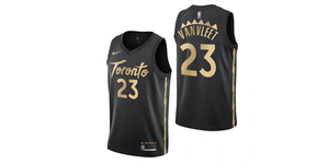 Fred Van Vleet Raptors City Jersey