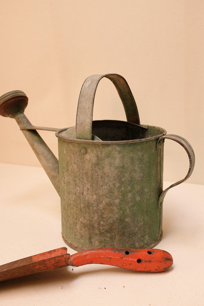 Violet's watering can and shovel