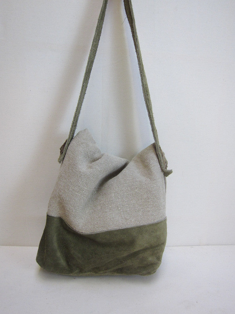 Lucy's linen lug around bag