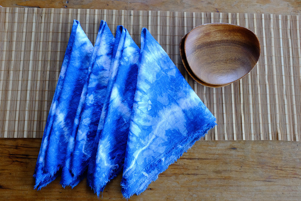 Shanna's tie dyed napkins