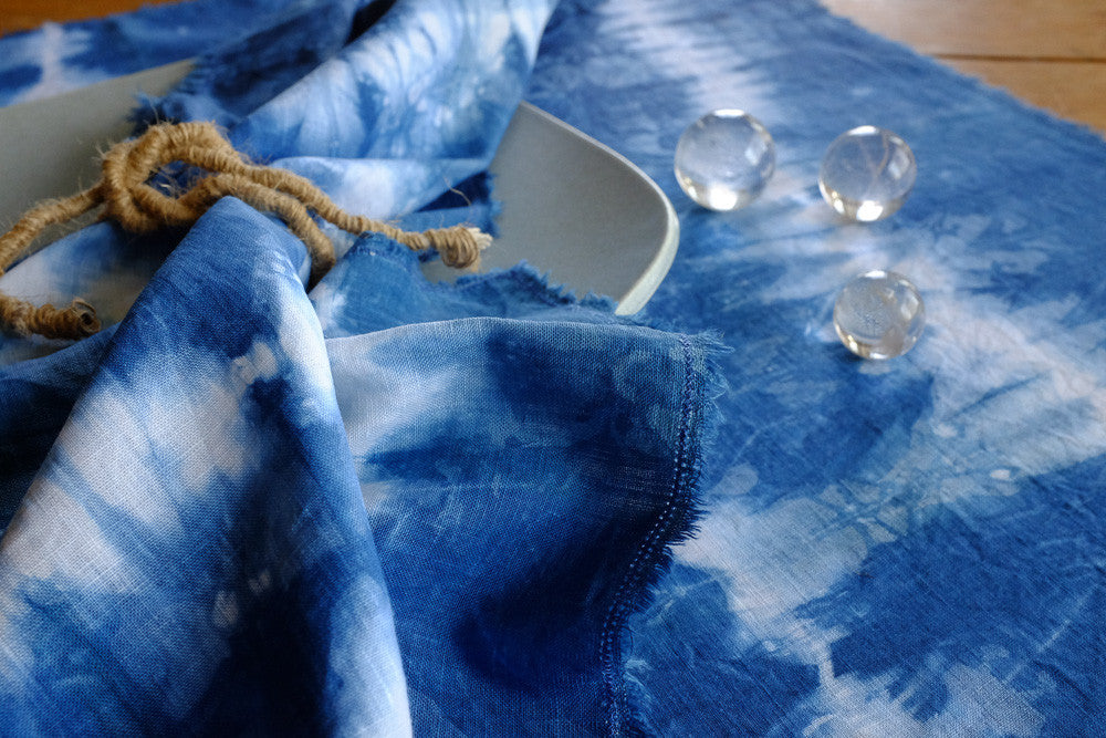 Crystal's ethereal tie dyed napkins