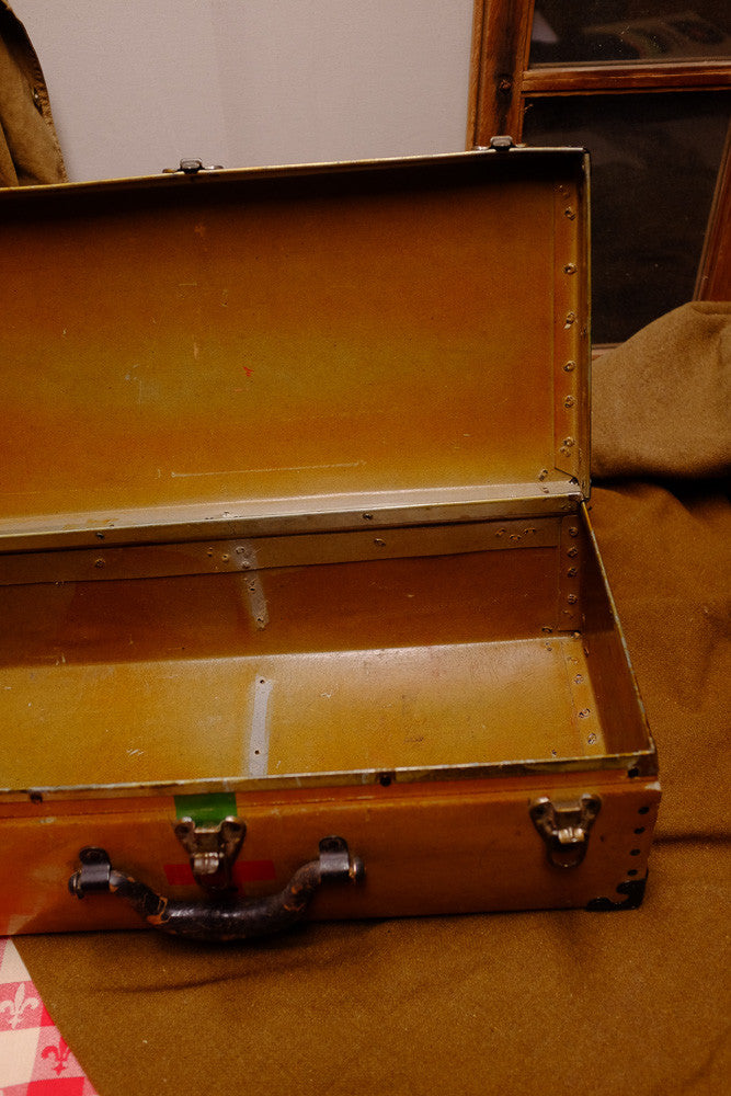 Dr. Henry's Red Cross suitcase