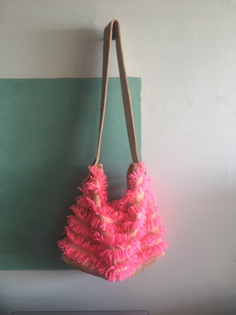 Pammy's pink party bag