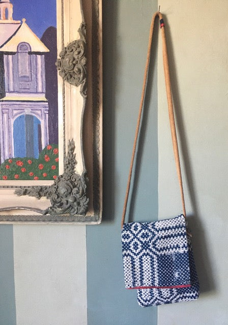 Scandinavian tapestry cocktail bag
