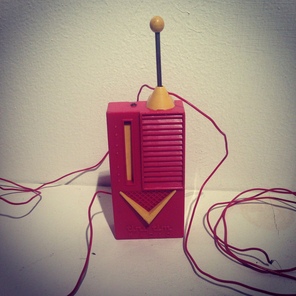 Vintage Toy Walkie Talkie