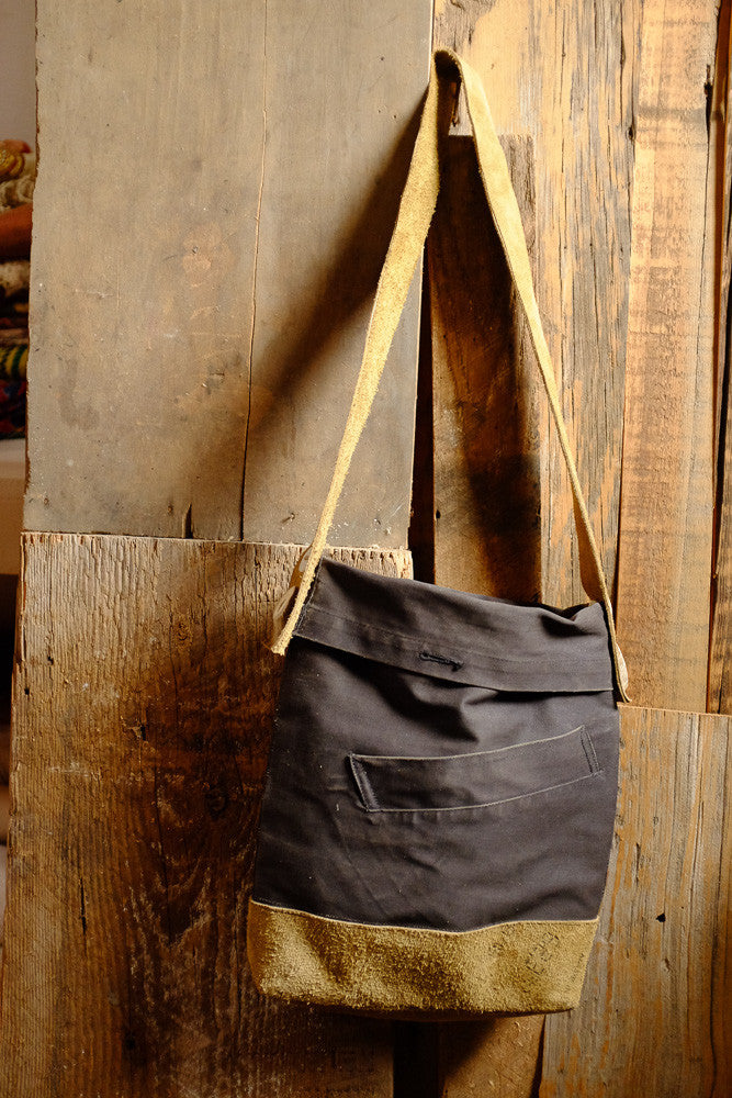 Sam's canvas satchel bag