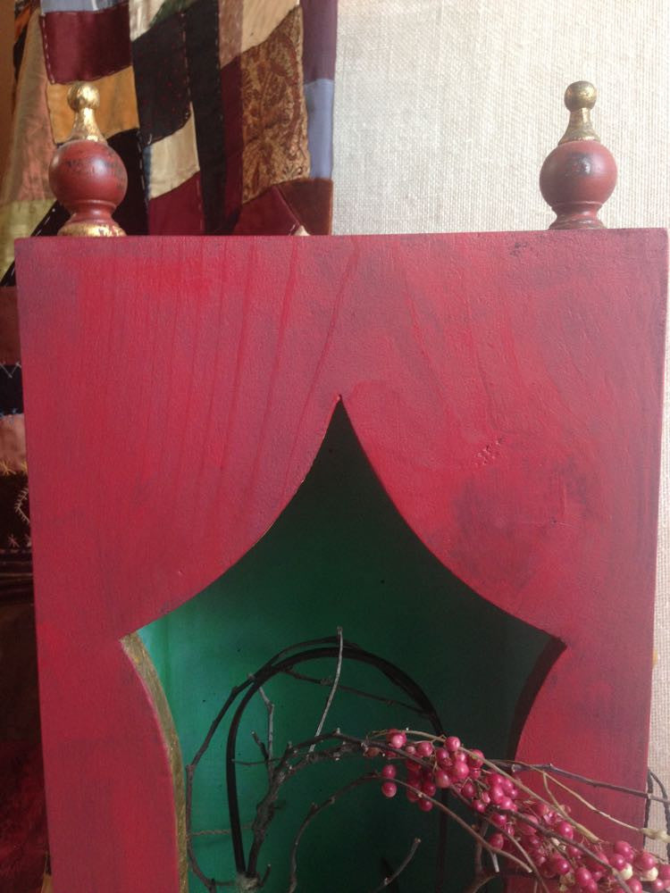 Ruby's red altar box