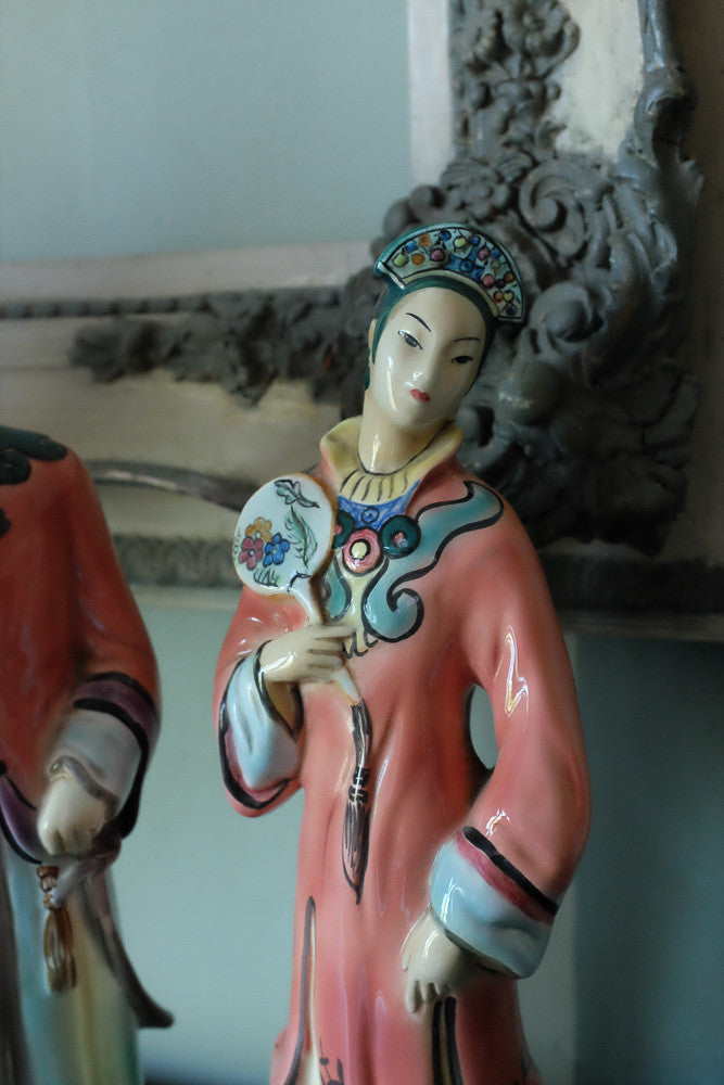 Louise's Vintage Chinese Princess and Prince