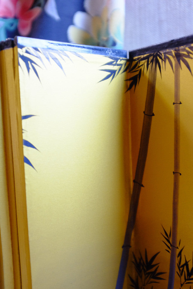Tina's painted paper screen