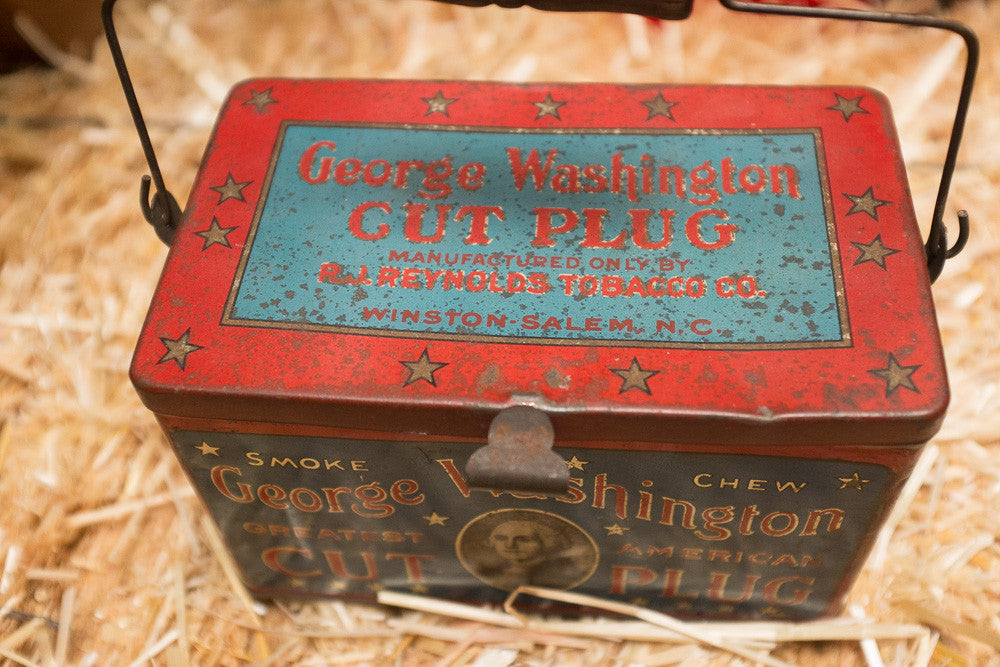 George's Cut Plug Tin