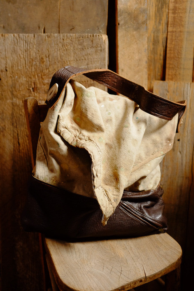 Denise's drop cloth bag