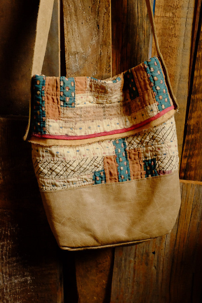 Laura Bell's quilt bag