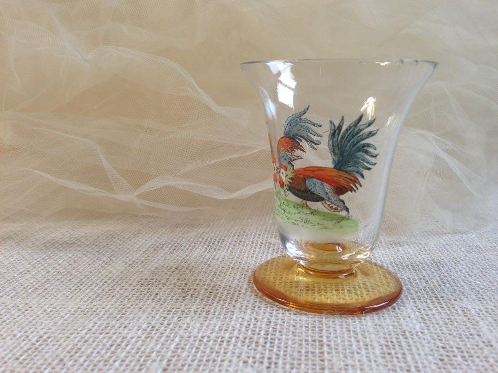 Grant's French rooster crystal