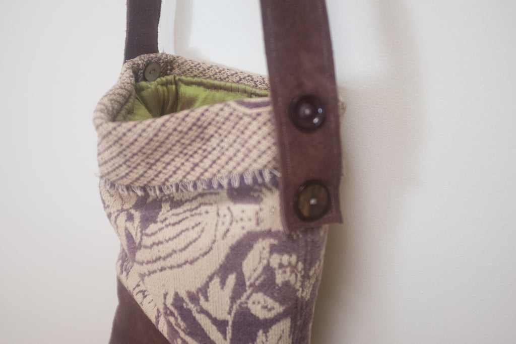 Penelope's tapestry bucket bag
