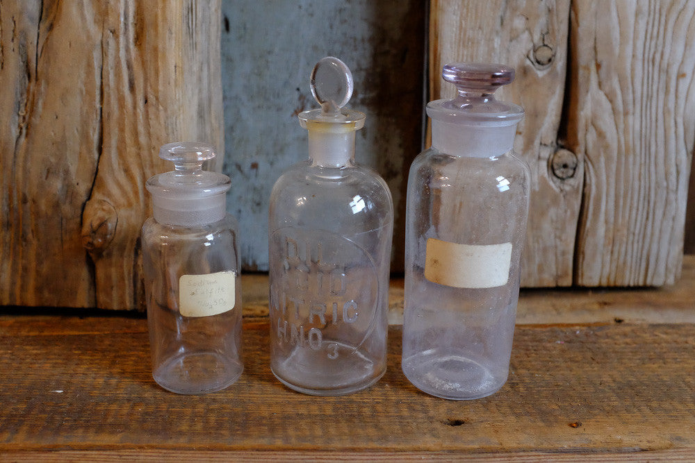 Gaylord's chemical bottles
