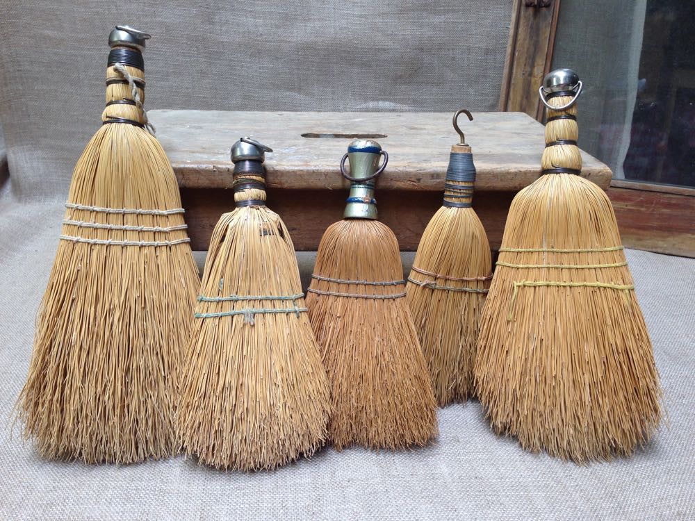 Freddy's five whisk brooms