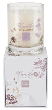 Vanilla & Coconut Large Boxed Candle